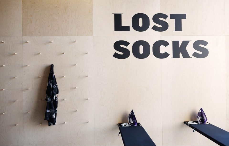 Lost socks at The Student Hotel Groningen