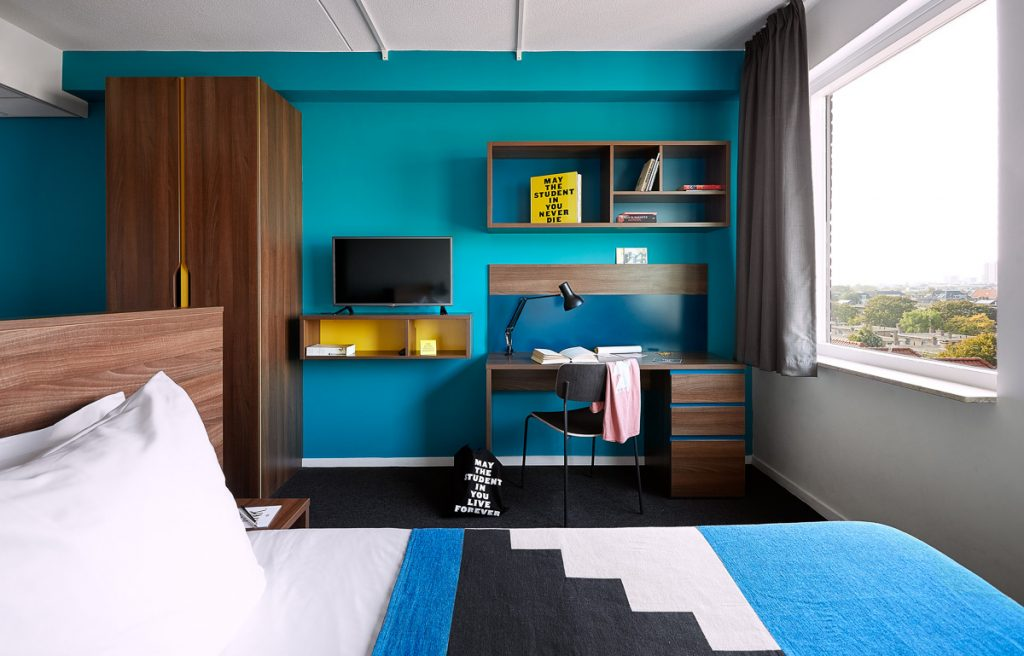 Student room The Student Hotel