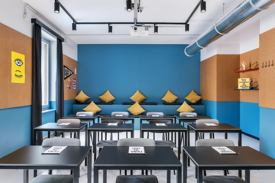 The Student Hotel Florence – Interior Design Photography by Sal Marston
