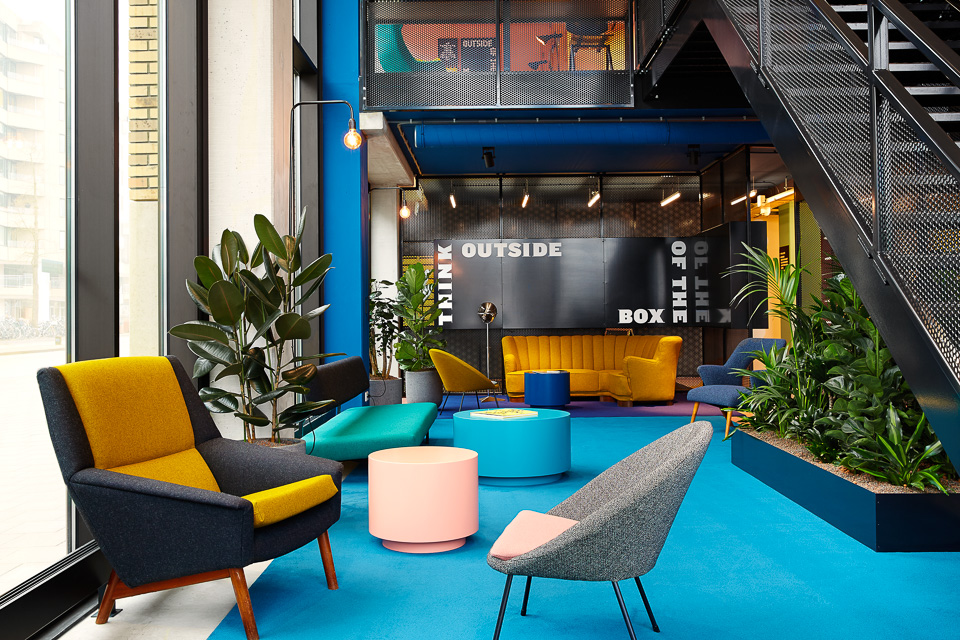 The Student Hotel Lobby