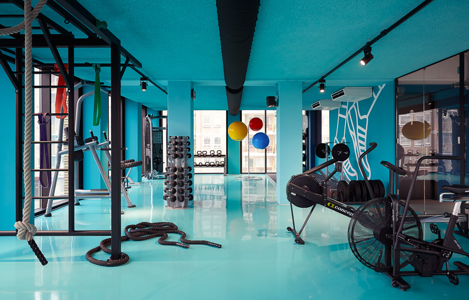 The Student Hotel Gym